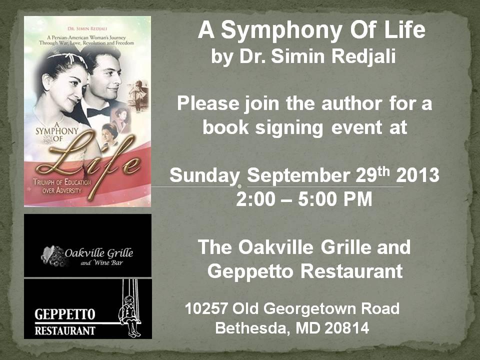 A Symphony of Life Flyer